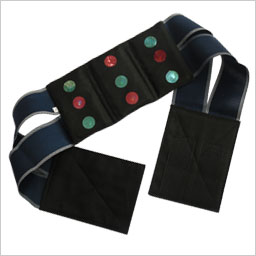 Back pain reliefing belt