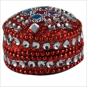 lac Jwellery Gift Box glass beads studded