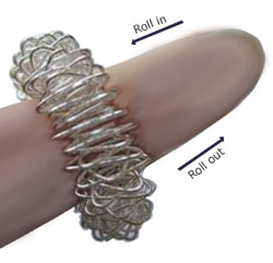 Acupressure ring depiction shown