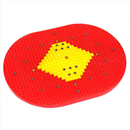 Acupressure Foot mat with Magnetic points - Power mat - with Small Pyramid
