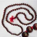 Rose Rosary rosewood mala beads